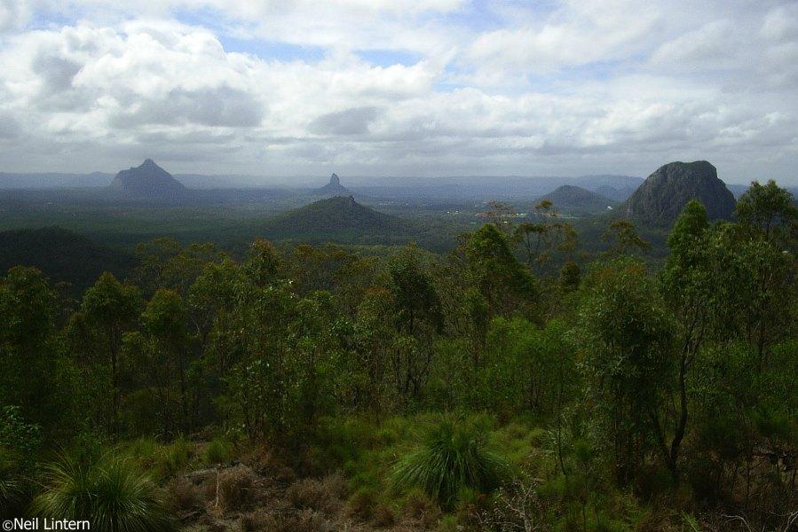 Glasshouse Mountains, Beerburum, QLD, Maleny, Australia
