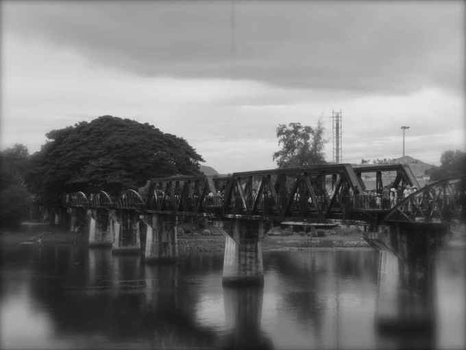 River Kwae Bridge, Kanchanaburi, Thailand, Death Railway, Hellfire Pass
