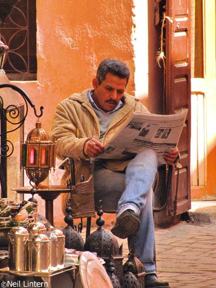 Marrakesh, Morocco, Markets