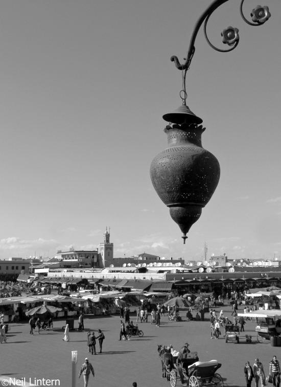 Jemaa-el-Fna, Marrakesh, Morocco