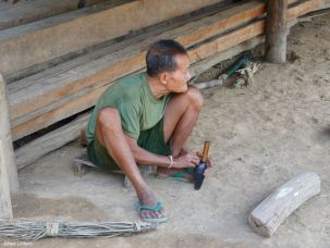 60mm Mortar, Don Khoun, Nam Ou River, Laos PDR, UXO, EOD, Landmines
