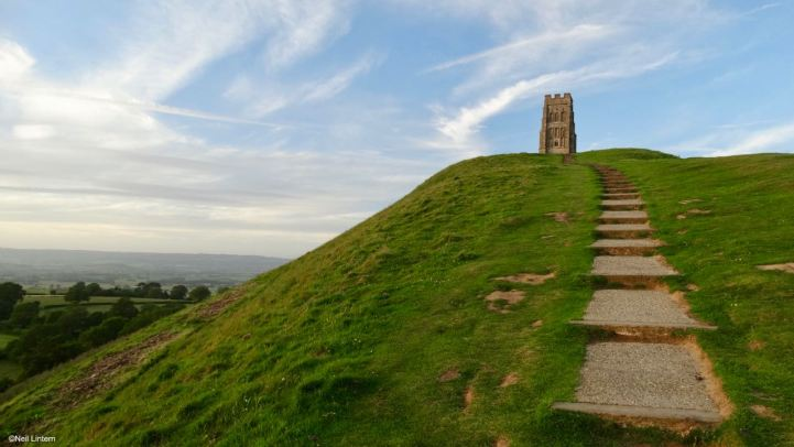 Glastonbury Tor, Glastonbury, Somerset, King Arthur