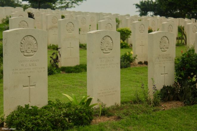 Kranji War Cemetary, Singapore, CWGC
