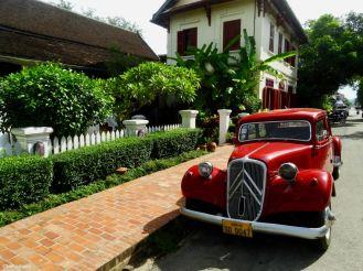 Vintage Citroen, Luang Prabang, Laos PDR