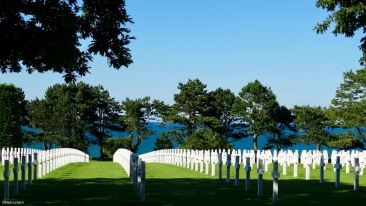 American Military Cemetery, Omaha Beach, Normandy, France