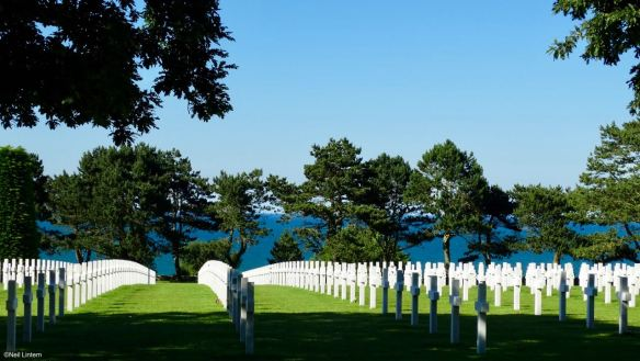 American Military Cemetery, Omaha Beach, Normandy, France