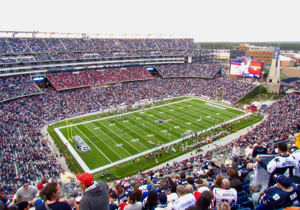 Patriots, Gillette Stadium, Foxborough, Massachusetts, USA