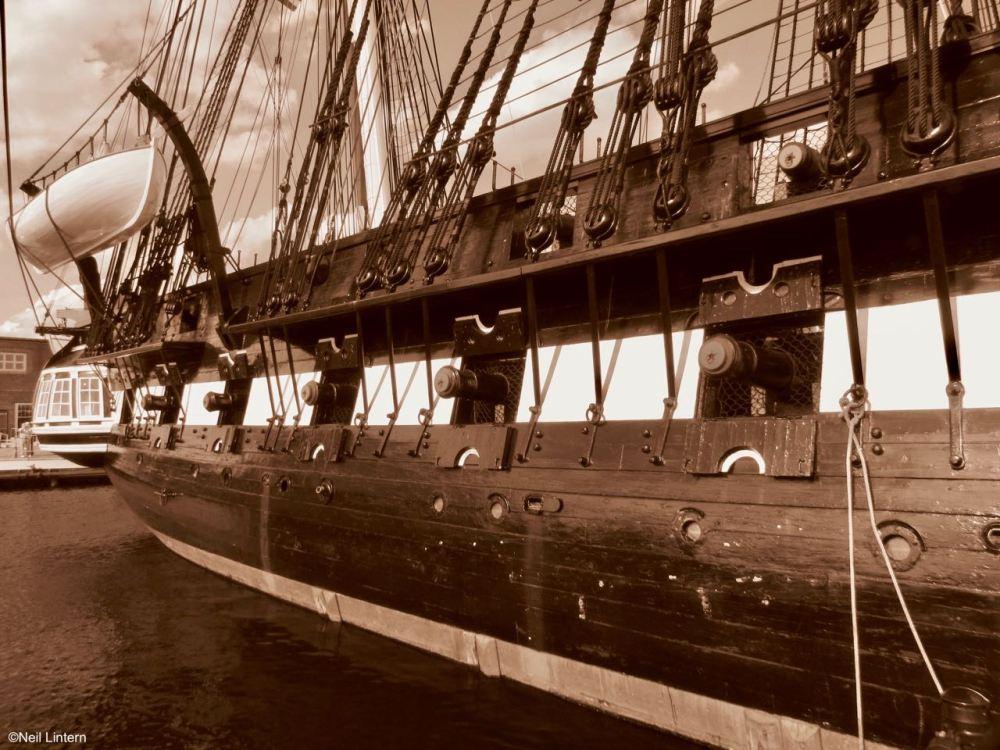 Old Ironsides, USS Constitution, Boston, Massachusetts, USA