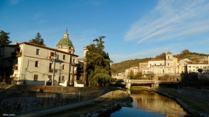 2 Rivers, Old Town, due fiume, Cosenza, Calabria