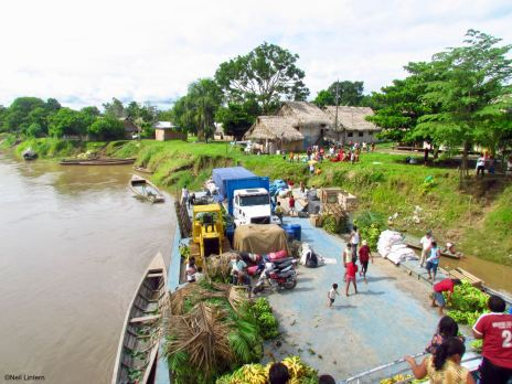 Peruvian Amazon, Eduardo Barge, Yurimaguas, Iquitos, Peru