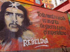Street Art, Che Guevara, La Paz, Bolivia, Street Art