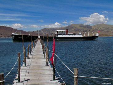 SS Yavari, Lake Titicaca, Puno, Peru