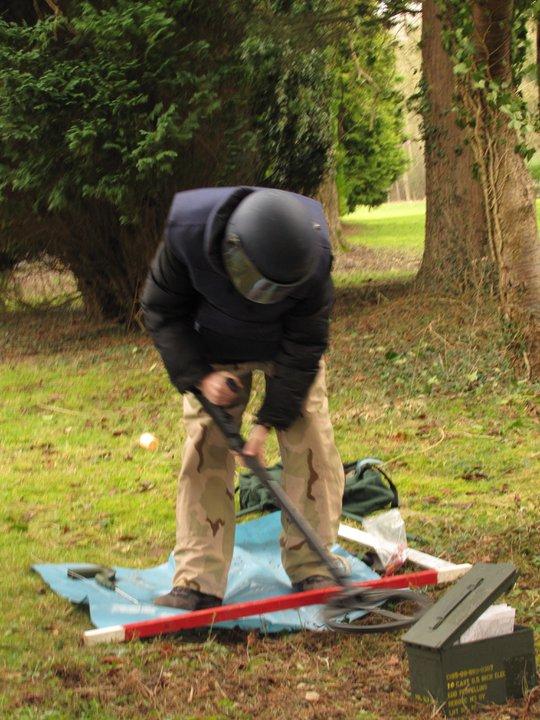 EOD Training, Demining, ISSEE